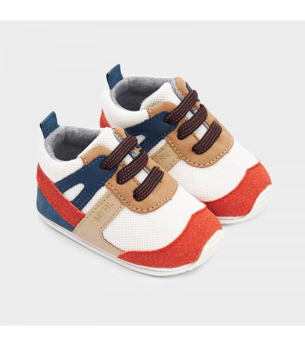 Pantofi caramizii sport multicolori baiat MAYORAL 9336 MY-PANTF02V