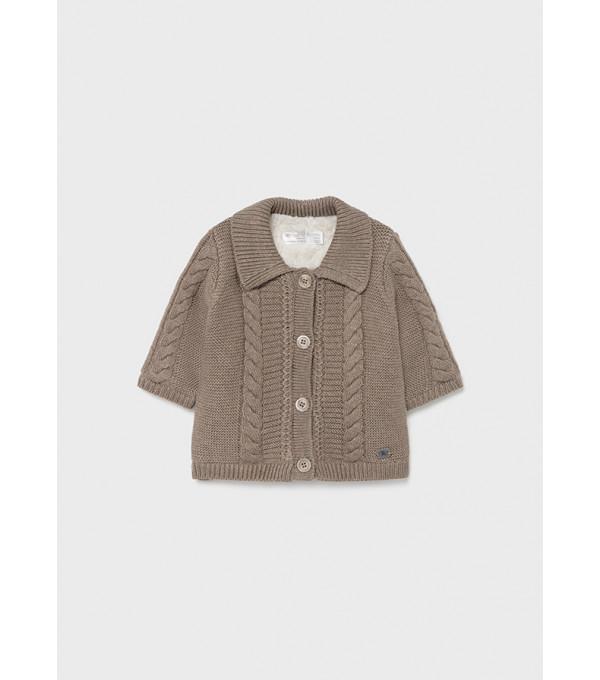 Cardigan tricot blanita nou-nascut baiat 2372 MY-G05Y