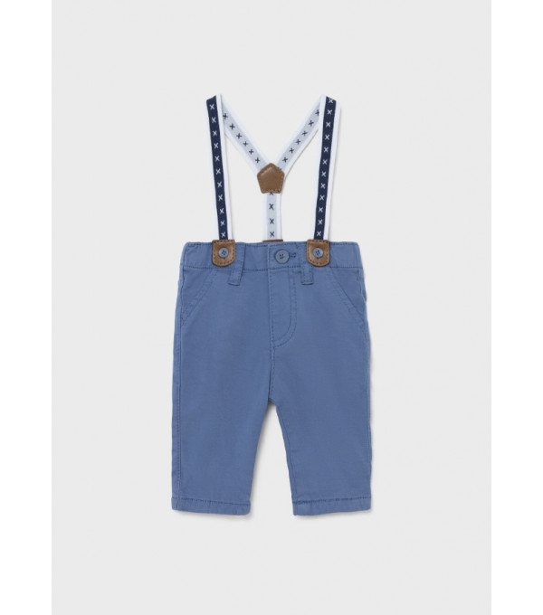 Pantaloni lungi cu bretele nou-nascut baiat 2520 MY-PL08Y