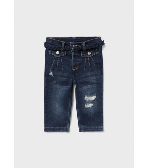 Pantaloni lungi denim bebe fata 2542 MY-BG07Y