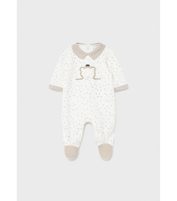 Pijama matlasata ECOFRIENDS nou-nascut  26723 MY-BD04Y