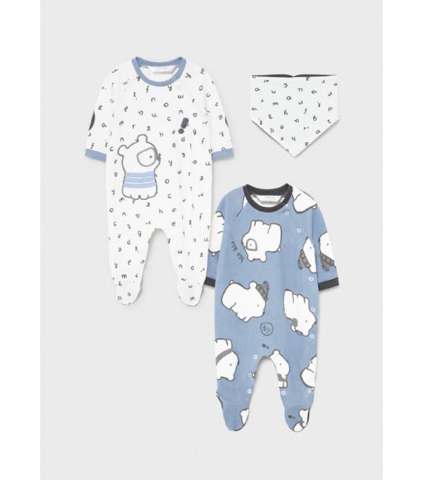Costumas nou-nascut baiat de la 0 la 18 luni 2686 MY-SET21Y