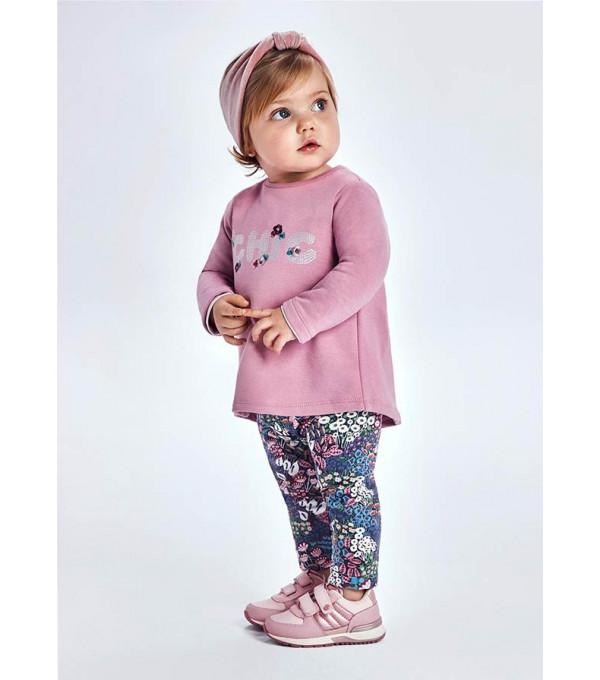 Set leggings imprimeu bebe fata 2716 MY-SET25Y