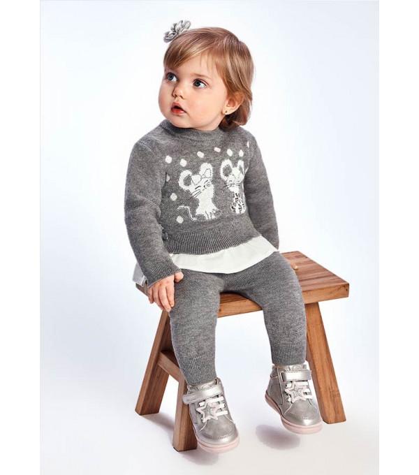 Set leggings tricot bebe fata 2720 MY-SET16Y