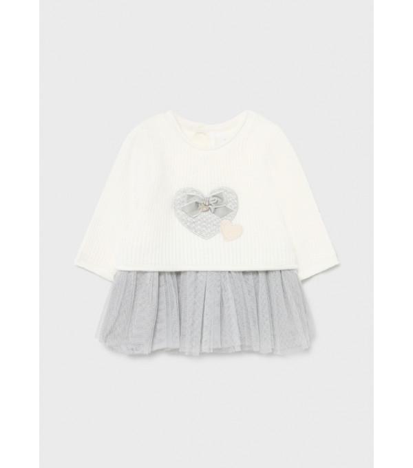 Rochie tricot nou-nascut fata 2814  MY-R23Y
