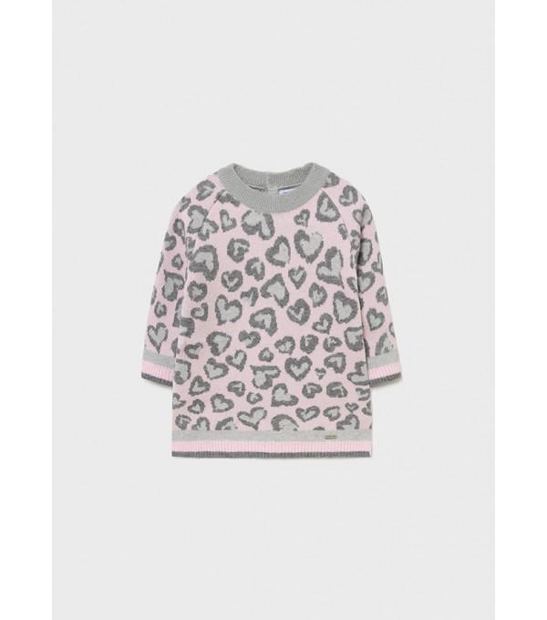 Rochie tricot bebe fata 2924 MY-R18Y