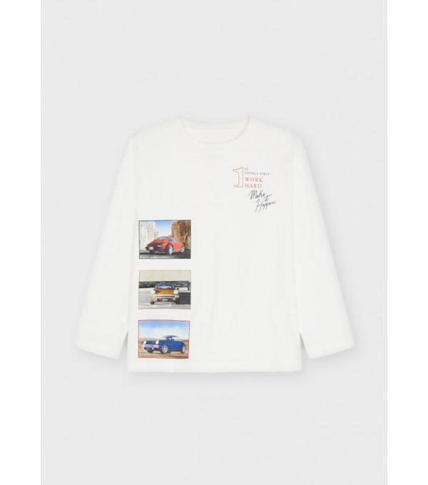 Tricou ECOFRIENDS maneca lunga fotografi baiat 4086 MY-BL26Y