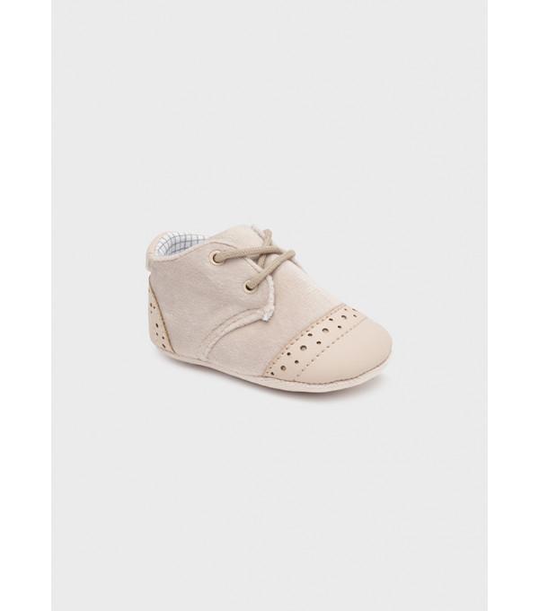 Pantofi combinati nou-nascut baiat 9445 MY-PANTF05Y