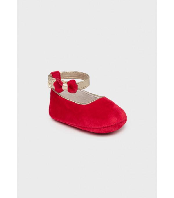 Pantofi catifea nou-nascut fata 9457 MY-PANTF02Y