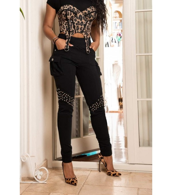 Pantalon casual bumbac dama Mexton MEXPL8372V