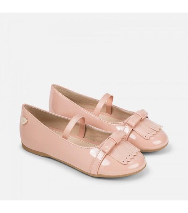 Pantofi nude fete Mayoral My-pantf06d