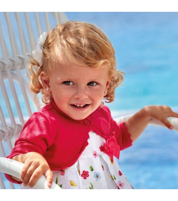 Bolero roz tricot fetita MAYORAL 306 MY-BO29W