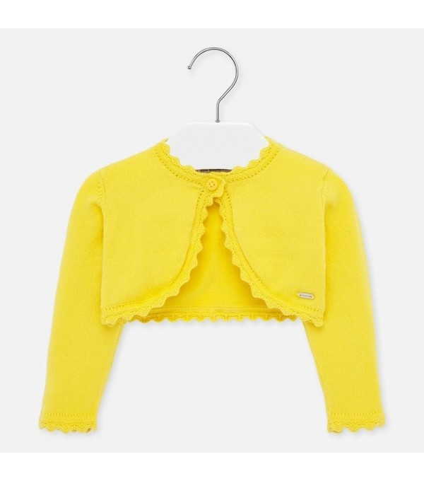 Bolero galben tricot fetita MAYORAL 306 MY-BO29W