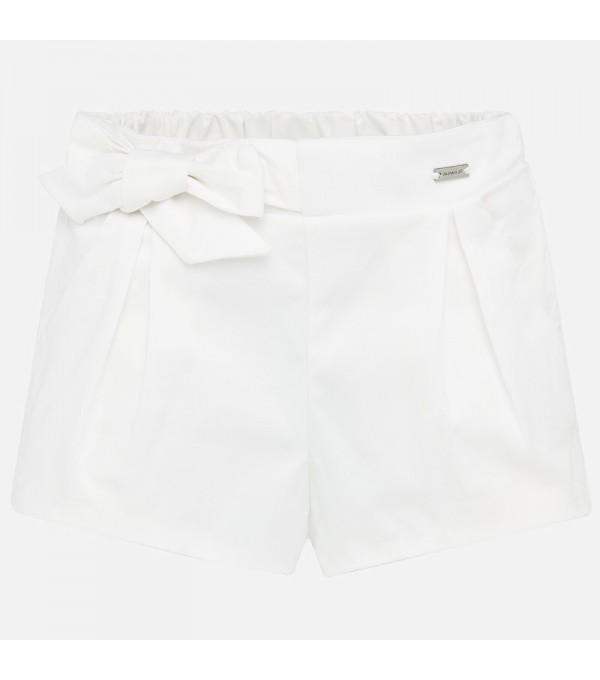 Pantaloni albi fete Mayoral MY-PS30W