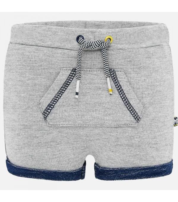 Pantaloni scurti buzunare bebe baiat nou-nascut my-ps25p