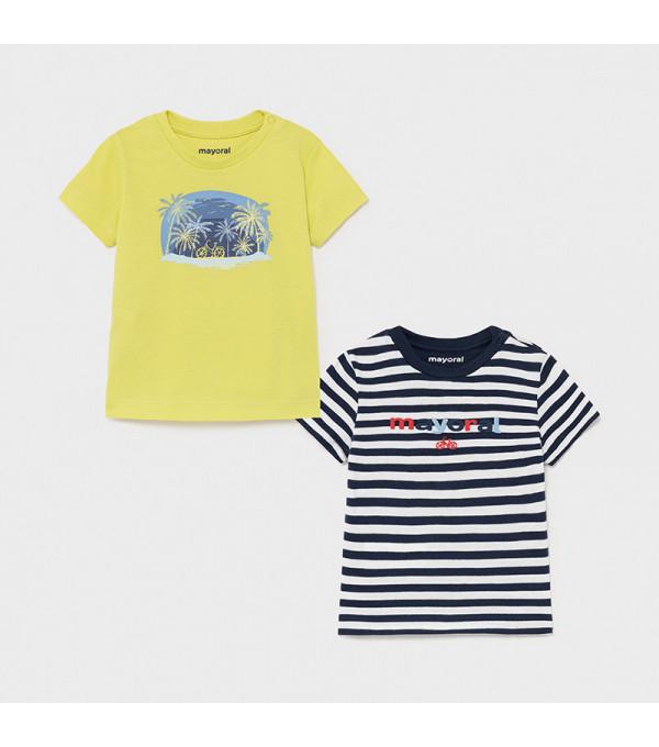 Tricou albastru dungi baiat MAYORAL 1015 MY-BL10X