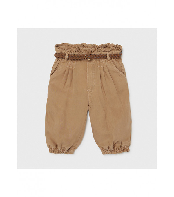 Pantaloni lungi fluizi Ecofriends bebe fetita 1576 MY-PL20X
