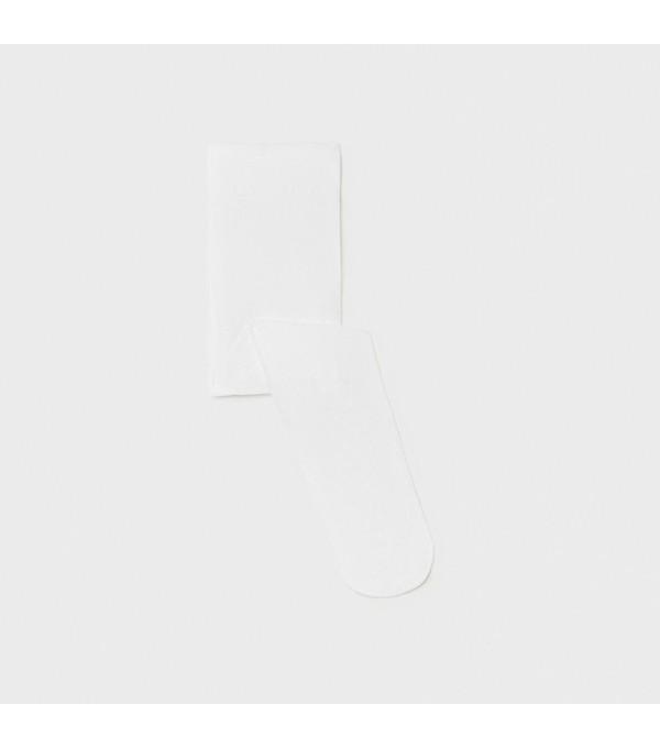 Ciorapi albi fata Mayoral MY-DRES02X