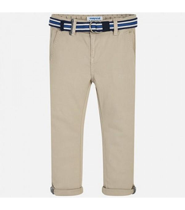 Pantaloni baieti bej  Mayoral My-pl06x