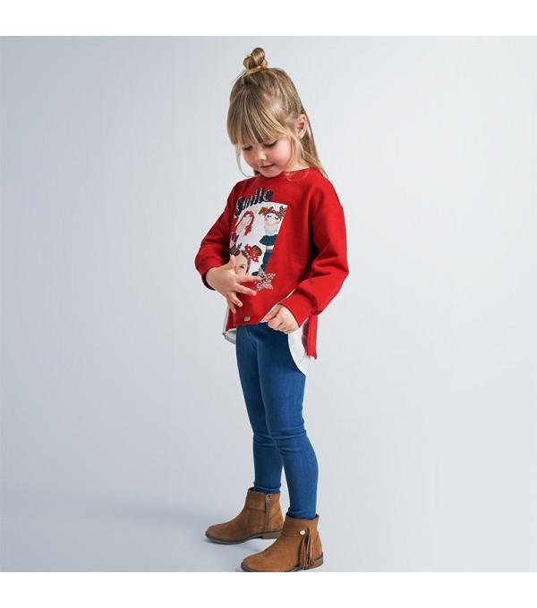Set leggings tricot denim fetita MY-SET18V