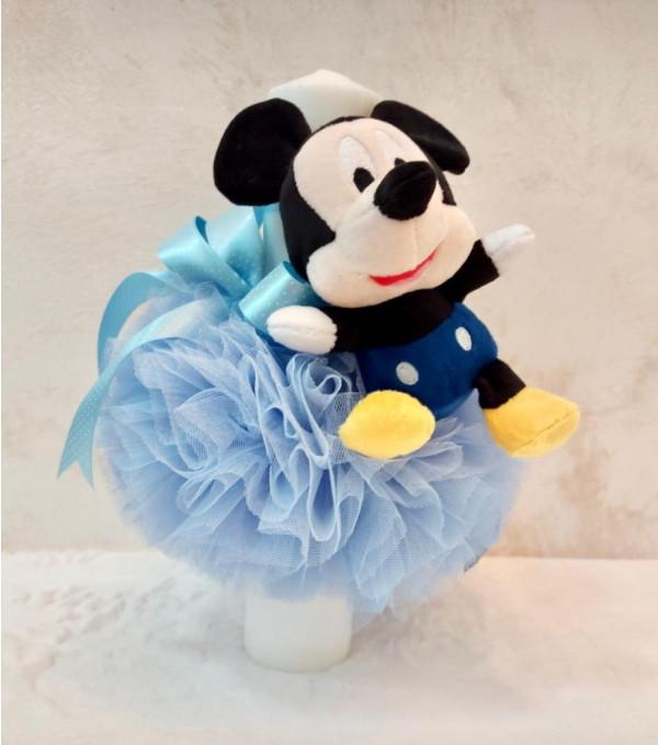Lumanare botez baiat Mickey  SP-LUMANARE01V