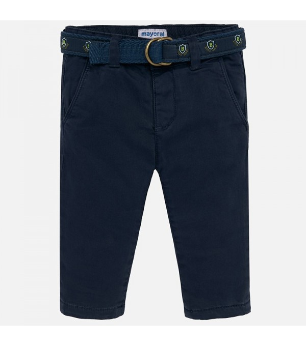 Pantaloni grosuti cu curea Mayoral My-pl20p