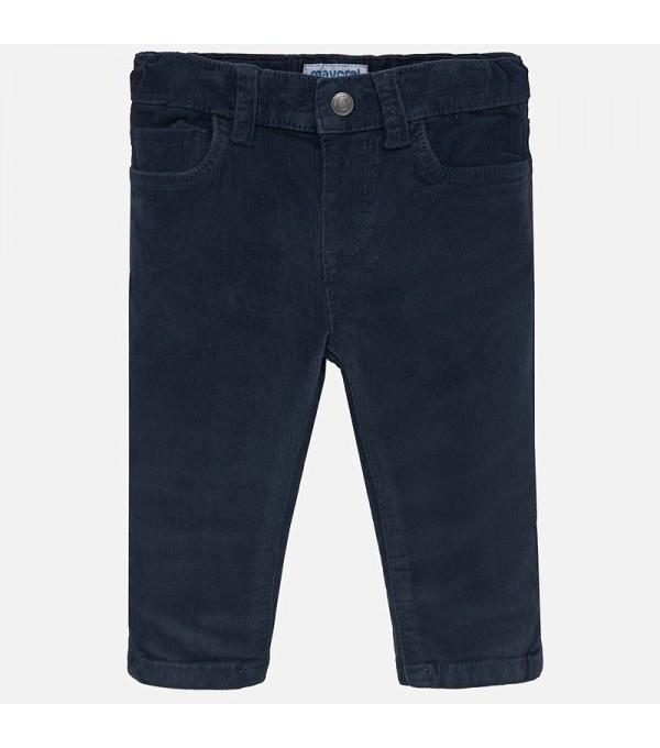 Pantalon raiat albastru inchis Mayoral My-pl13p