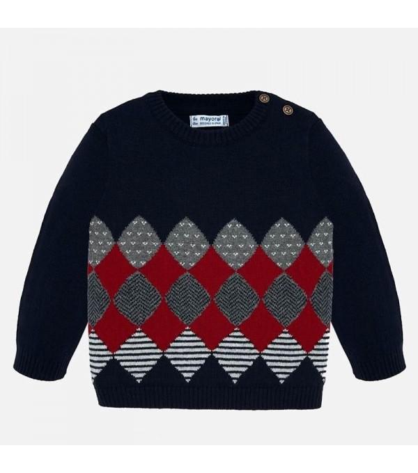 Bluza albastru-rosu Mayoral My-bl84p
