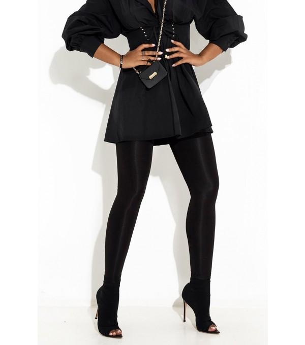 Pantalon negru dama Mexton Mexpl8213v