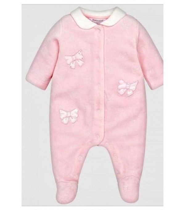 Pijama catifea roz-deschis Mayoral My-pija06a