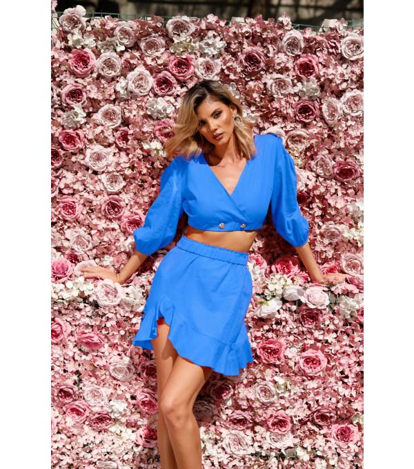 Costum albastru deschis dama BBY-CS38X