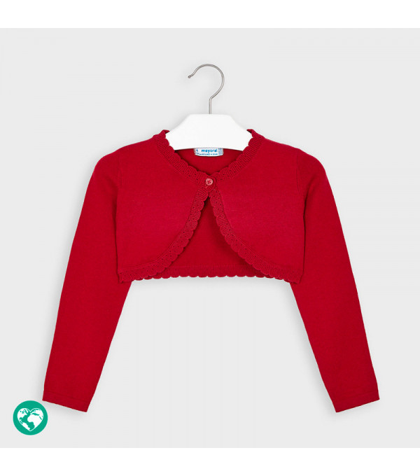 Cardigan tricot basic fetita 0314 MY-BO02P