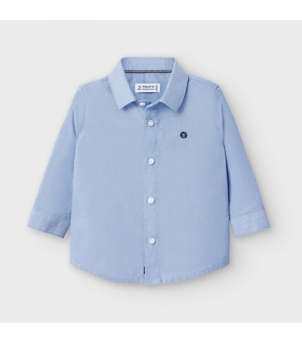 Camasa  bleu maneca lunga oxford basic bebe baiat 00113 MY-CM01V