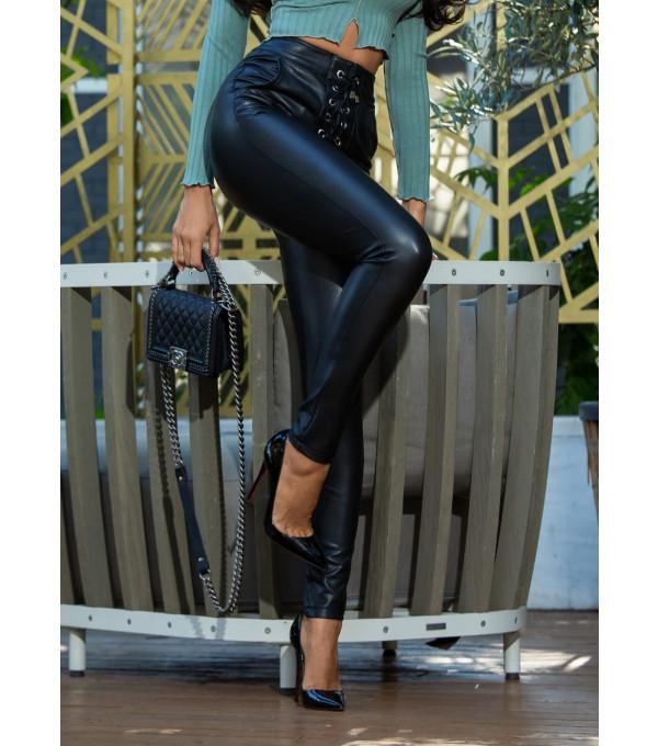 Pantaloni piele ecologica Mexton MEXPL8817Y