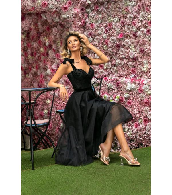 Rochie neagra BBY-R87X