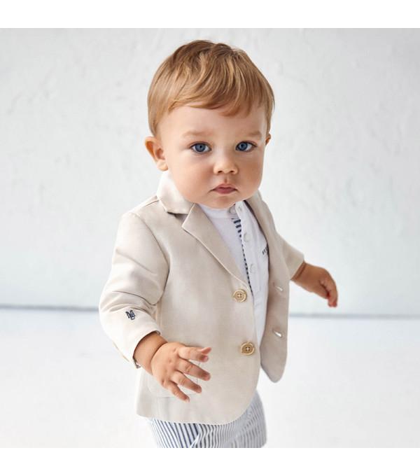 Jacheta in eleganta bebe baiat 1402 MY-SC02X