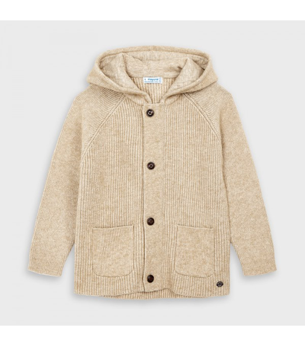 Jacheta tricot cu buzunare baiat 4340 MY-BL152Y