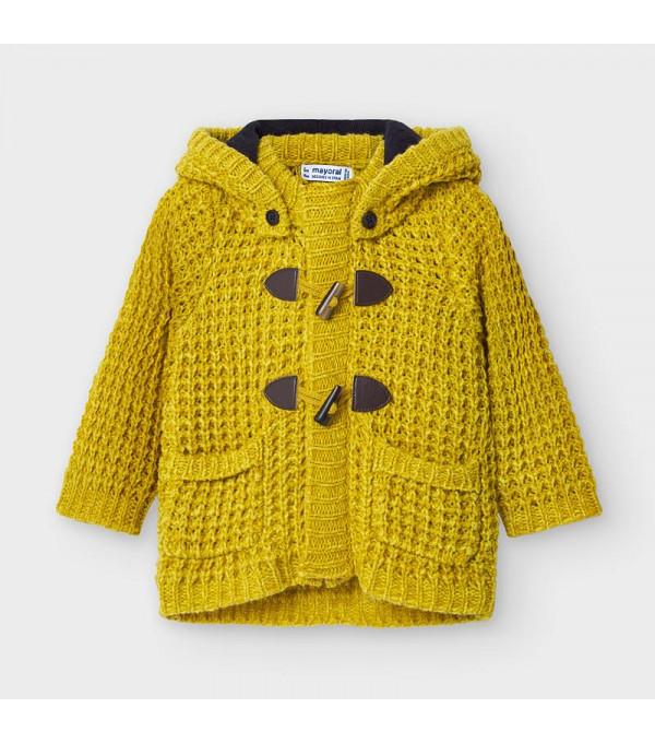 Jacheta tricot nasturi bebe baiat 02354 MY-G103Y