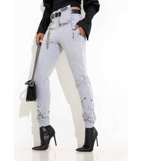 Pantaloni gri Mexton Mexpl8262v