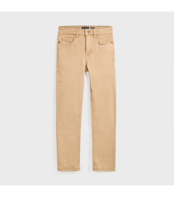 Pantaloni crem slim fit baiat MAYORAL 582 MY-PL110Y
