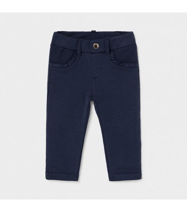 Pantaloni lungi bleumarin bebe fetita 550 Mayoral My-pl01x