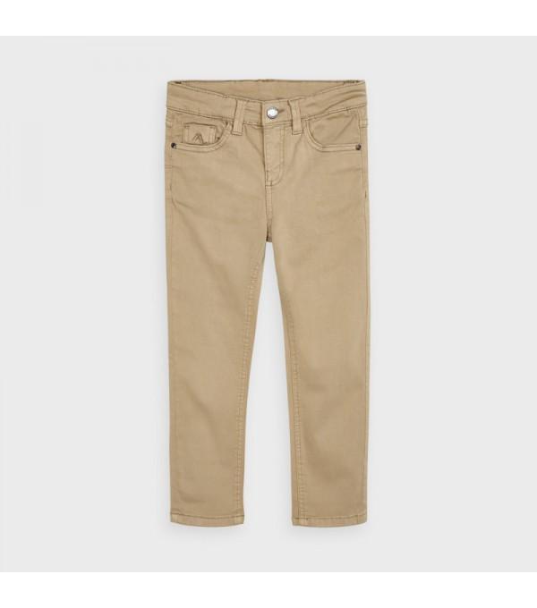 Pantaloni crem slim fit baiat MAYORAL 517 MY-PL101Y