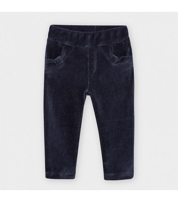 Pantaloni fata albastri Mayoral MY-PL02V