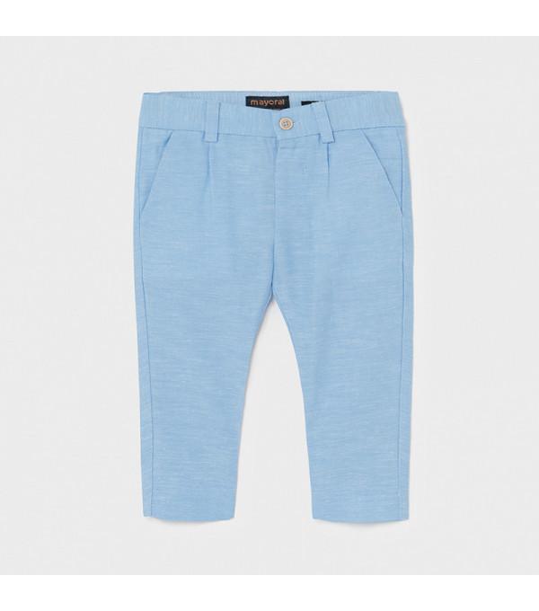 Pantaloni lungi in eleganti bebe baiat 1581 MY-PL13X
