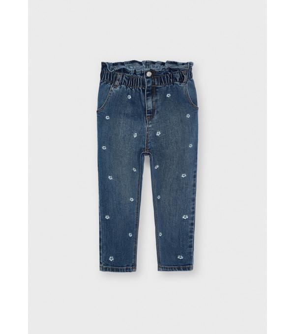 Pantaloni lungi slouchy fata 4577 MY-BG06Y