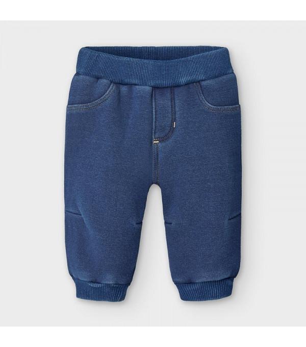 Pantaloni plus denim nou-nascut baiat 02566 MY-PL115Y