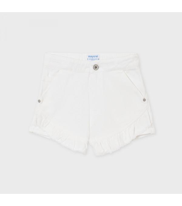Pantaloni scurti sarga volanase fata 6270 MY-PS21X