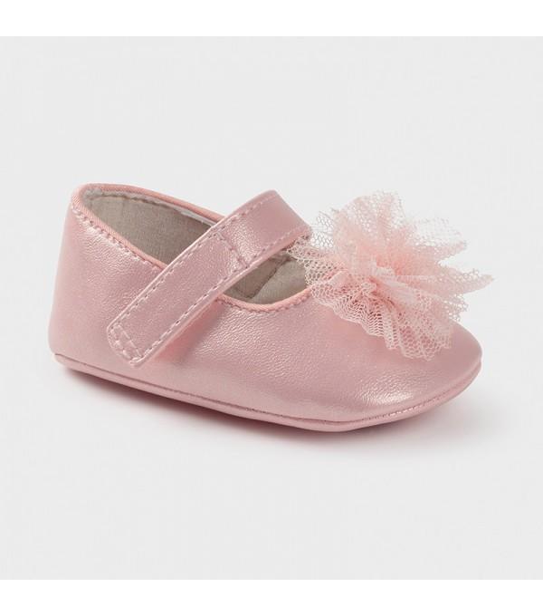 Pantofi ceremonie floare new born fata Mayoral 09403 MY-PANTF03X