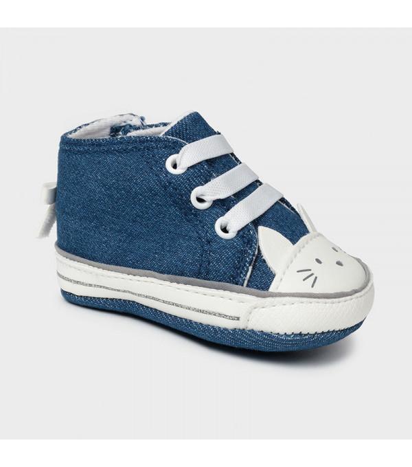 Pantofi sport pisicuta new born fata 9410 MY-TEN03X