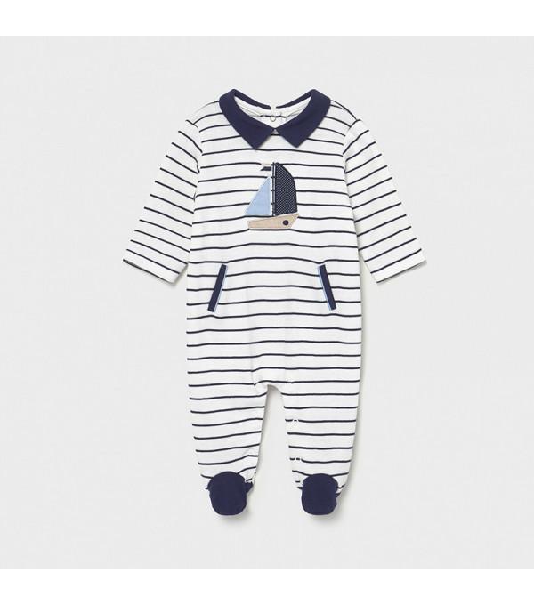 Pijama dungi nou-nascut baiat 1628 MY-PIJA03X